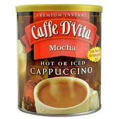 Caffe D'Vita Capuccino Mocha (6x16Oz)