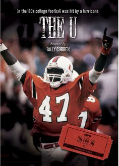Available in: DVD.This entry in ESPN's 30 for 30 series chronicles the evolution of University of Miami football. Miami native and school Miami Football, College Football, Football Team, Football Helmets, Hurricanes Football, Miami Hurricanes, Team Success, Thing 1
