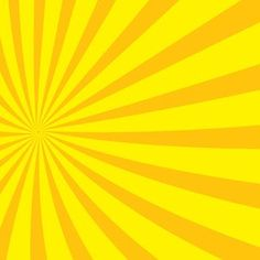 Radial Yellow Sunbeams Vector Il Rationsvector Backgroundpublic Domainclip Artil Rations