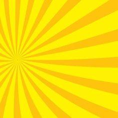 Radial Yellow Sunbeams Vector Il Rationsvector Backgroundpublic Domainclip Artil Rations