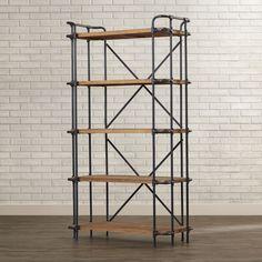 """Trent Austin Design 67"""" Etagere Bookcase"""