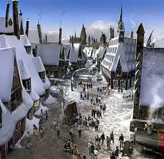 Orlando, Florida -Harry Potter in Universal Studios. I WILL be here one day!!