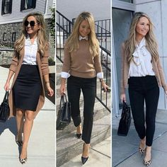 Camel and black work outfit - Work Outfits Women Stylish Work Outfits, Business Casual Outfits, Classy Outfits, Smart Casual Work Outfit Women, Women Business Casual, Fashionable Outfits, Pretty Outfits, Stylish Outfits, Mode Outfits
