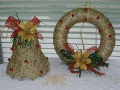 Your Recipe Ideas Christmas Time, Christmas Wreaths, Christmas Crafts, Christmas Ideas, Handmade Christmas, Grapevine Wreath, Homemade, Holiday Decor, Gifts