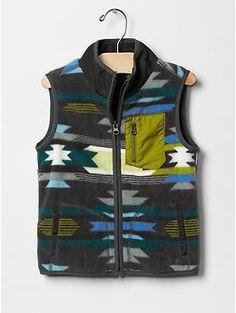 Southwest fleece vest | Gap