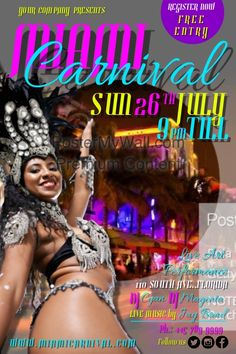 Find design templates for Carnival. Easy to customize. Download and print or purchase high quality prints from us.
