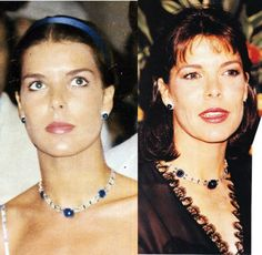 same necklace and earrings