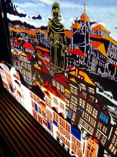Details of the layers of the city of Porto!