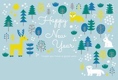 CH0047北の森から | 年賀状2020(令和2年・子年・ねずみ) 素材 | 年賀状・無料ダウンロード | 年賀状ならブラザー Happy New Year, Home Decor, Decoration Home, Room Decor, Home Interior Design, Happy New Year Wishes, Home Decoration, Interior Design
