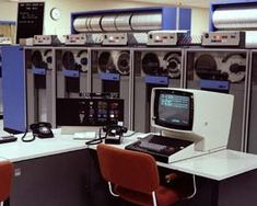 Operator's console, tape drives...