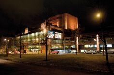 A big local theatre in Tampere, TTT (Tampereen Työväen Teatteri). Cities In Finland, Theatre, Street View, Urban, Pearls, Photo And Video, History, City, Building