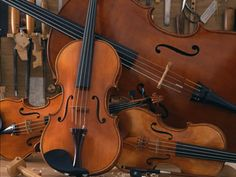 Friedrich Alber creates beautiful #violin #cello #viola