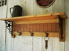 Mounted Coat Rack Shelf - Foter