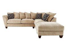 RHF Scatter Back Corner Sofa