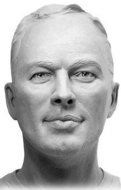 #Bronze #sculpture by #sculptor Lancelot Little titled: 'David Gilmour (Commission Bust Head Face Bronze Portrait statue)'. #LancelotLittle