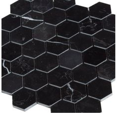 Premium Nero Marquina Black Marble Mosaics Tiles And Trims From The Builder Depot Perfect For Standalone Designs Or Completing A Border Around Carrara
