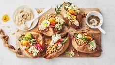 Raw Food Recipes, Healthy Recipes, Healthy Food, Bruschetta, Food And Drink, Ethnic Recipes, Healthy Foods, Raw Recipes, Healthy Eating Recipes