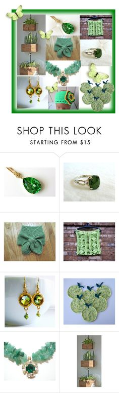 """""""Green. Unique handmade gifts."""" by lwitsa62 ❤ liked on Polyvore featuring interior, interiors, interior design, home, home decor, interior decorating and Olivine"""