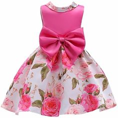 Baby Girl Dress 2018 Summer Children Sleeveless Floral Dresses With Flower Kids Princess Wedding Dress Children Clthing, Ropa de niña, Wedding Dresses For Girls, Girls Party Dress, Toddler Girl Dresses, Girls Dresses, Party Dresses, Reception Dresses, Birthday Dresses, Dresses Dresses, Dress Prom