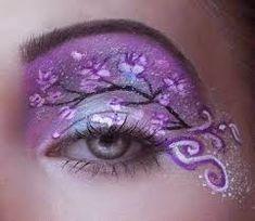 Resultado de imagen para maquillaje de ojos artistico con piedras