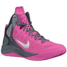 newest b6633 750af Nike Zoom Hyperenforcer PE - Men's - Basketball - Shoes - Pinkfire Ii/Cool  Grey