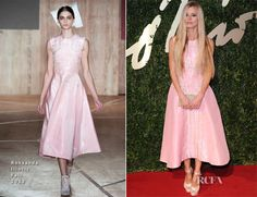 Laura Bailey In Roksanda Ilincic – British Fashion Awards 2013