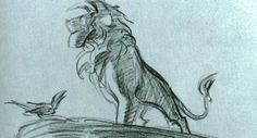 Lion King storyboard