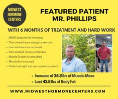 Phillips and what a way to enter He was able to lose lbs of body fat and improve muscle mass by pounds. He changed his Body Composition lbs in only 6 months. This of course came with disciplined eating and consistent exercise. times a week Hormonal Weight Gain, Testosterone Therapy, Bioidentical Hormones, Hormone Replacement Therapy, 3 Pounds, Body Composition, He Is Able, Muscle Mass, Love My Job
