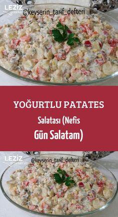 Yoğurtlu Patates Salatası (Nefis Gün Salatam)