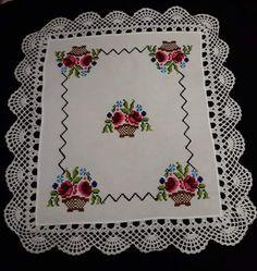 Cross Stitch Rose, Cross Stitch Flowers, Cross Stitch Kits, Cross Stitch Patterns, Crochet Doilies, Crochet Stitches, Crochet Patterns, Mexican Designs, Crewel Embroidery
