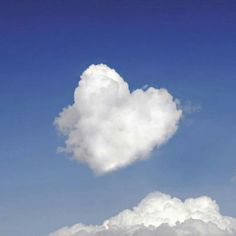 Love is written in the sky :-) via Heart In Nature, Heart Art, Lord Is My Strength, Christian Devotions, Christian Encouragement, Bible Truth, Spiritual Inspiration, God Is Good, Beautiful World