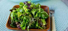 Bilde av grønn salat