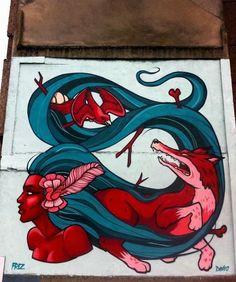 Street Art Wall Murals