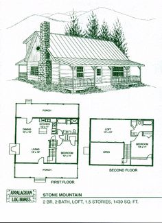 small cabin with loft floorplans | Photos of the Small Cabin Floor ...