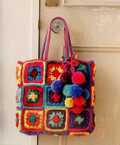 Crochet with Color is packed with lovely items to spice up your home. Projects are easy enough for a beginner to try, and so charming and unique that seasoned crocheters won't be able to resist making them. Available at www.maggiescrochet.com