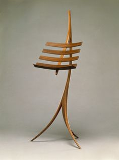 Music Rack by Wendell Castle, 1964.
