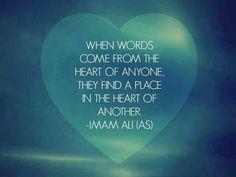 Imam Ali a.s said...