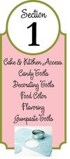 Check out all of our Cake&Kitchen accessories, Candy Tools, Decorating tools, food color, flavoring, and gumpaste tools!