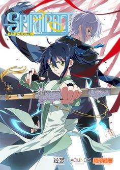 Imagen promocional del Anime Spiritpact.