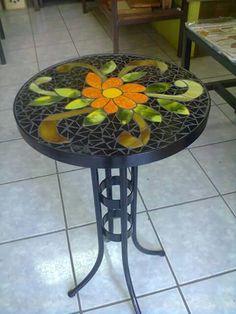 Mosaic Tables, Outdoor Furniture, Outdoor Decor, Stencils, Mirror, Simple, Home Decor, Gardens, Mosaic Artwork