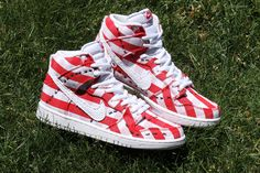 "Nike SB Hooks-Up the Dunk High in ""Picnic"" Attire for Summer - EU Kicks: Sneaker Magazine"