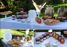 Crepe Bar, Crepes Party, Birthday Brunch, Brunch Wedding, Picnic, Baby Shower, Homemade, Table Decorations, Babyshower