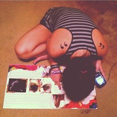 Just stumbled upon this picture that @guesa took years ago and it just to happens to be #ThrowbackThursday. I'm decoding Taylor Swift's hidden messages in her album #SpeakNow🔎🎶💖 #Tbt #NoteMyTSwiftBracelets #SoObsessed #QuotationMarkTattoo #LoveThatAlbum #Vinyl