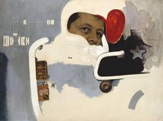 Richard Hamilton 'Towards a definitive statement on the coming trends in menswear and accessories (a)  Together let us explore the stars ', 1962 © The estate of Richard Hamilton