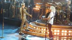 """Queen and Adam Lambert - """"We Will Rock You"""" """"We are the Champions"""""""