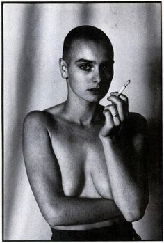 Sinead O'Connor by Anton Corbijn.