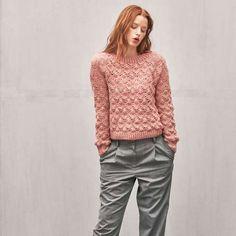 Basic Raglangenser - 1803-06 | Maschenfein :: Strickblog Raglan, Pullover, Daisy, Turtle Neck, Kos, Sweaters, Crochet, Fashion, Tricot
