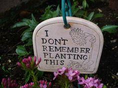 Does this also describe half of your garden? :-)