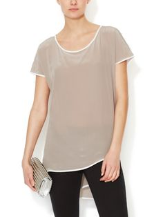 Silk Wrap Back Top from Gold Hawk on Gilt