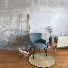 Interior Work, Studio Interior, Interior Design, Concrete Wall, New Room, Vintage Decor, Living Room Decor, Decoration, Dining Chairs
